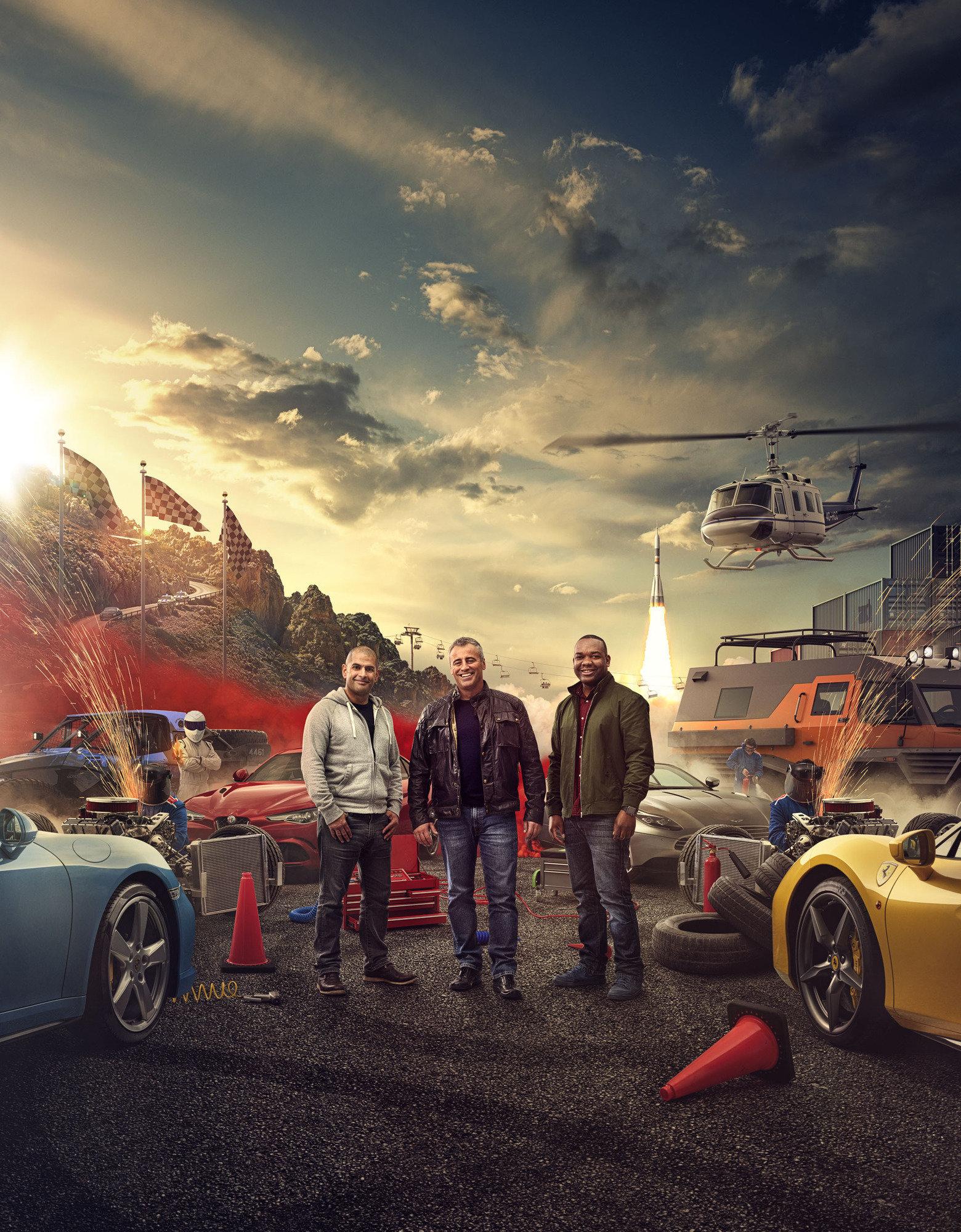 Chris Harris, Matt LeBlanc and Rory Reid will front the new series of 'Top