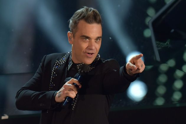 Brits Icon Robbie Williams is also