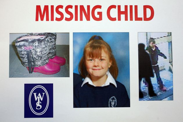 Police image showed Shannon's distinctive boots that she was wearing when she went missing and a video...