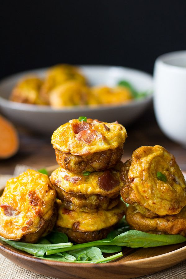"""<strong>Get the <a href=""""http://www.paleorunningmomma.com/sweet-potato-bacon-egg-muffins/"""" target=""""_blank"""">Sweet Potato Bacon"""