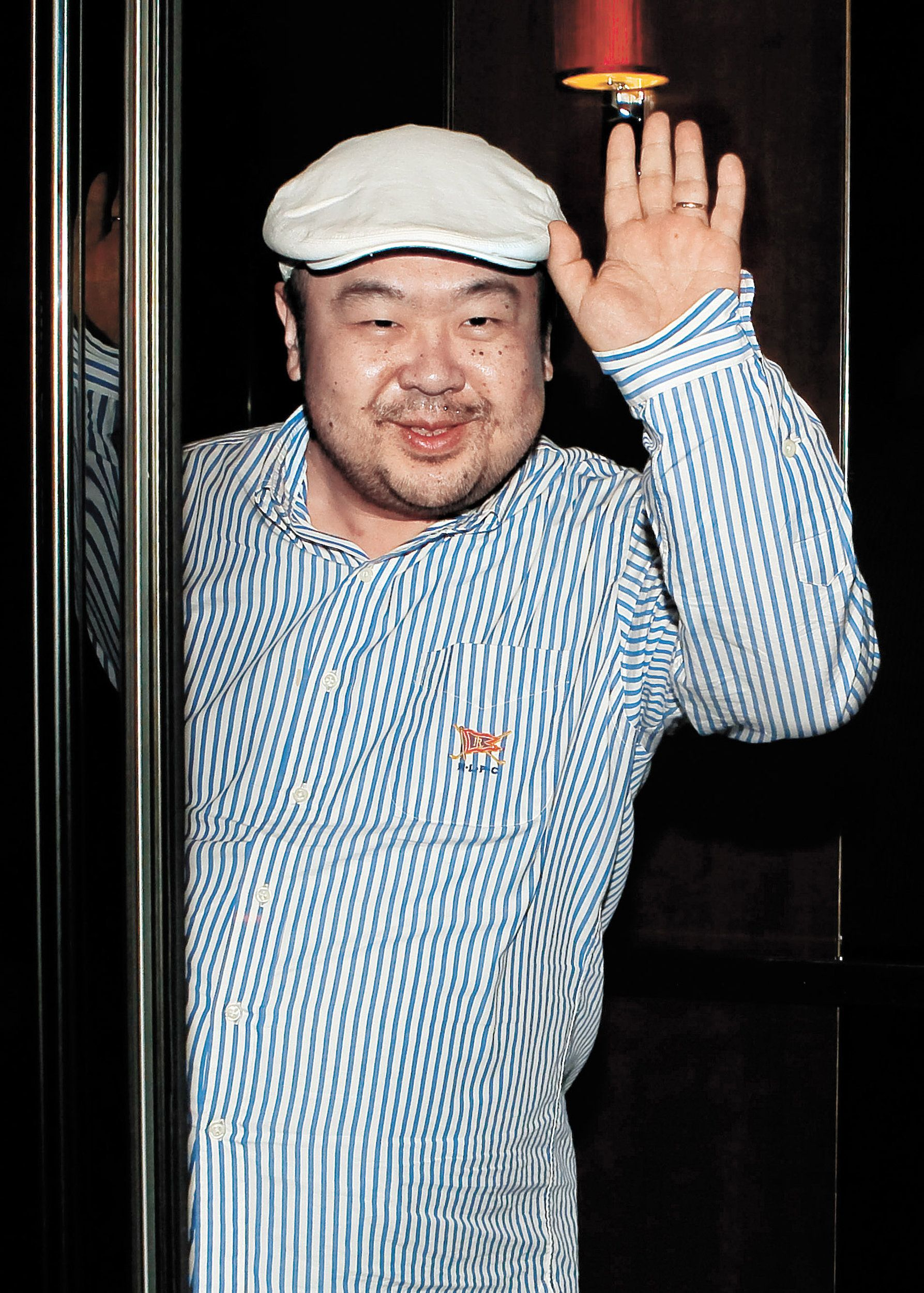 Kim Jong Nam, the eldest son of the late North Korean leader Kim Jong-Il, is seen back in 2010. This week it was reported tha