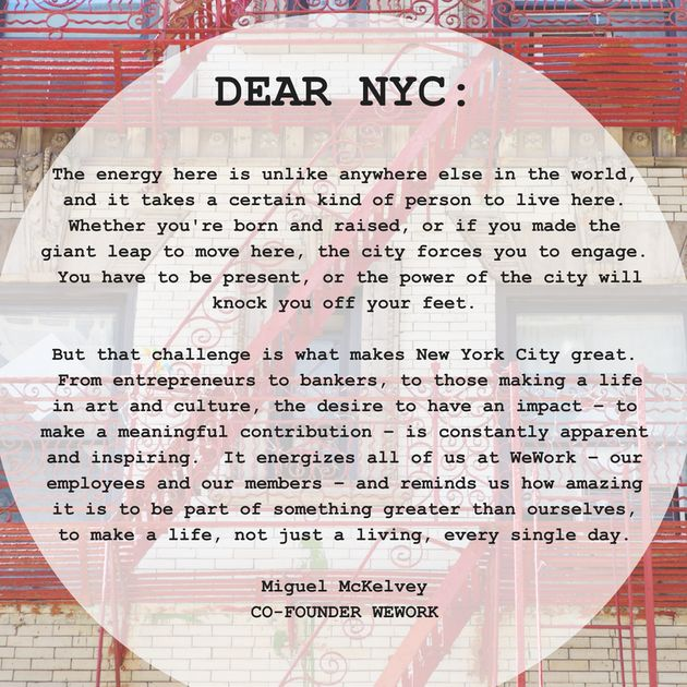 Tech Confesses Its True Feelings For NYC | HuffPost