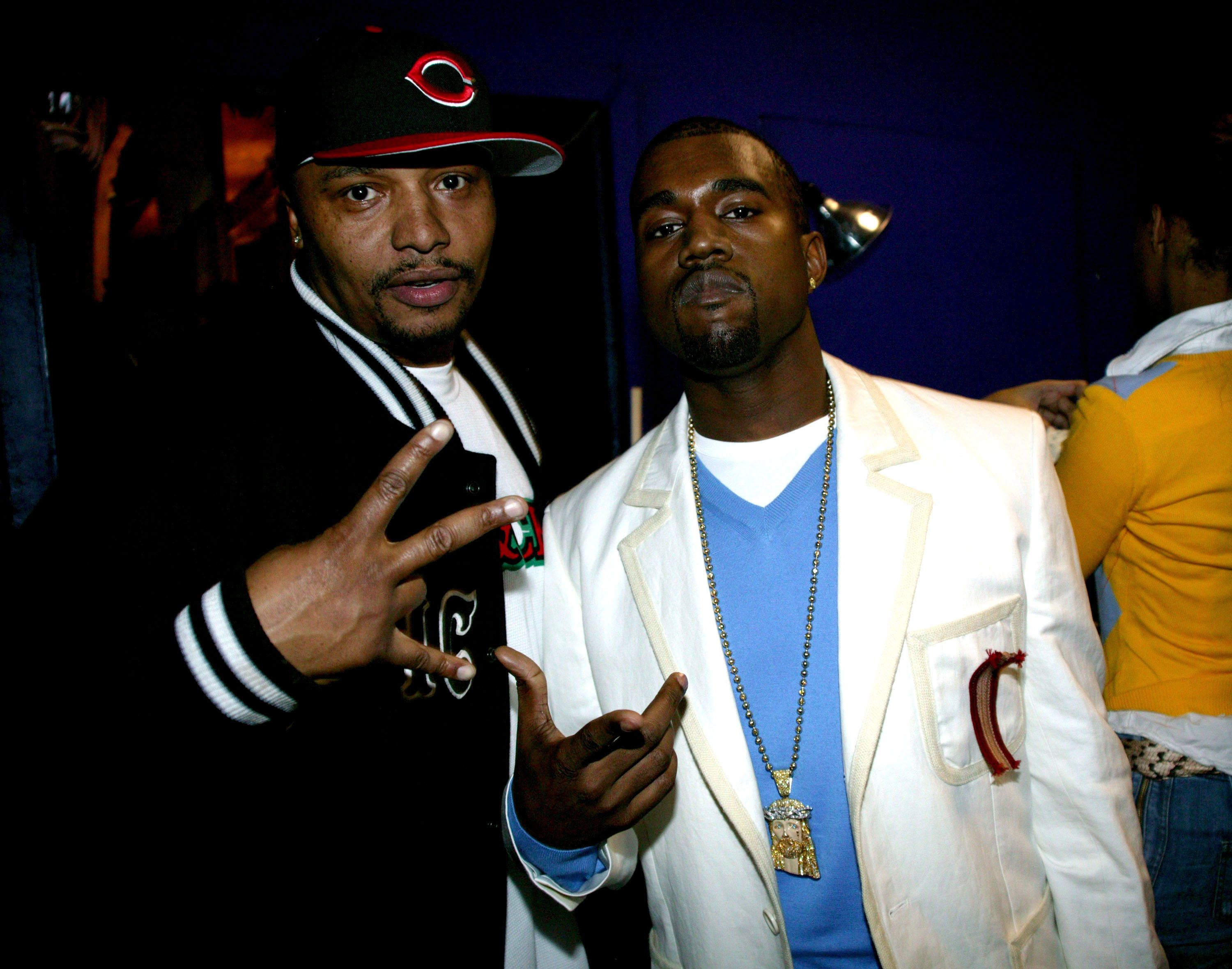 Malik Yusef and Kanye West have known each other for more than a decade. Here they are at the Def Poetry Jam in New York