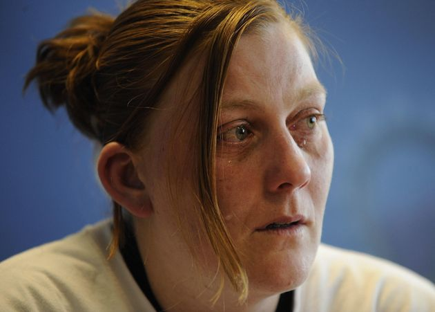 Karen Matthews the mother of missing 9-year-old Shannon Matthews makes an emotional appeal for her safe...