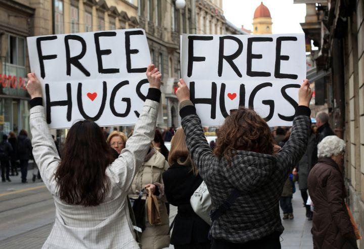 <p>Free Hugs</p>