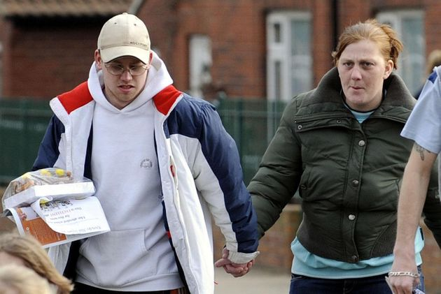 Craig Meehan and Karen Matthews during the search for