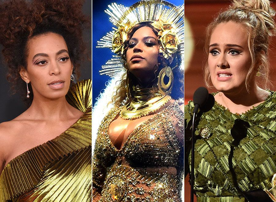 Solange Unimpressed With The Grammys' Beyoncé