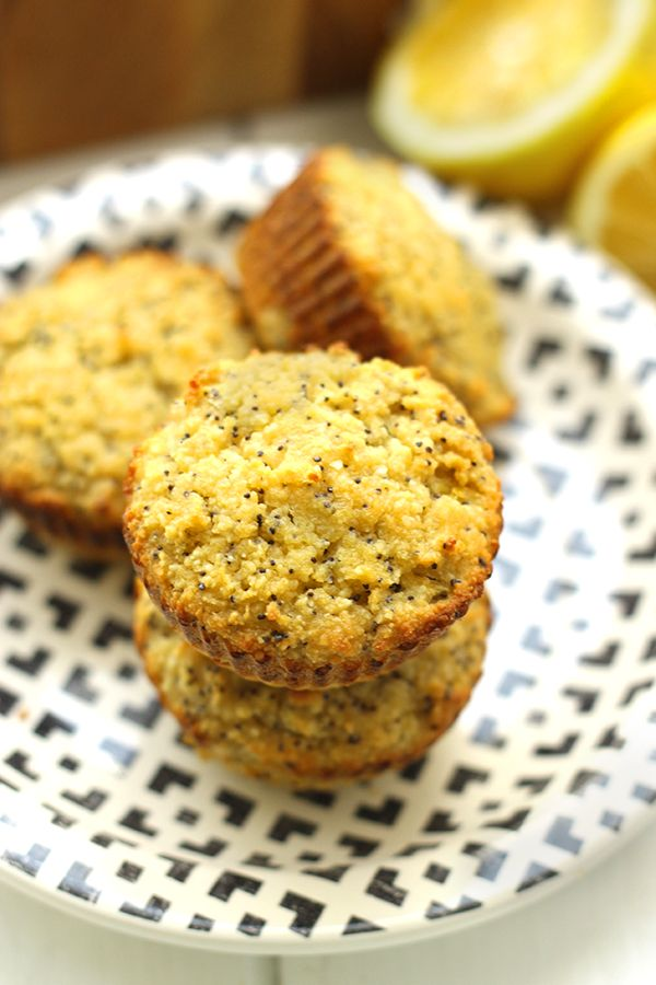 """<strong>Get the <a href=""""http://www.thehealthymaven.com/2015/03/paleo-lemon-poppyseed-muffins.html"""" target=""""_blank"""">Paleo Lem"""