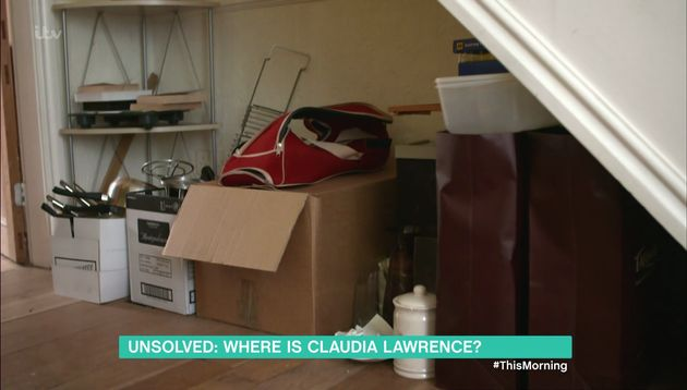 Lawrence's flat has remained virtually untouched since she went
