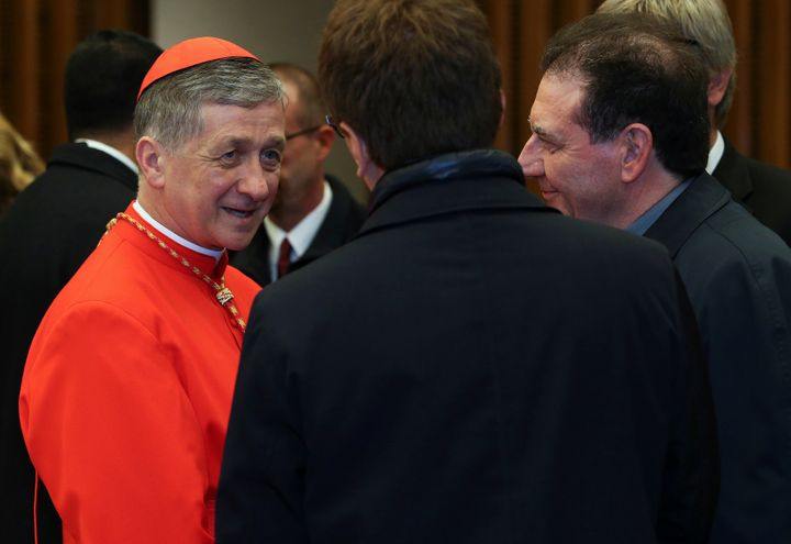 "Chicago's Cardinal Blase Cupich called Trump's ban a ""dark moment in U.S. history."" In a statemen"