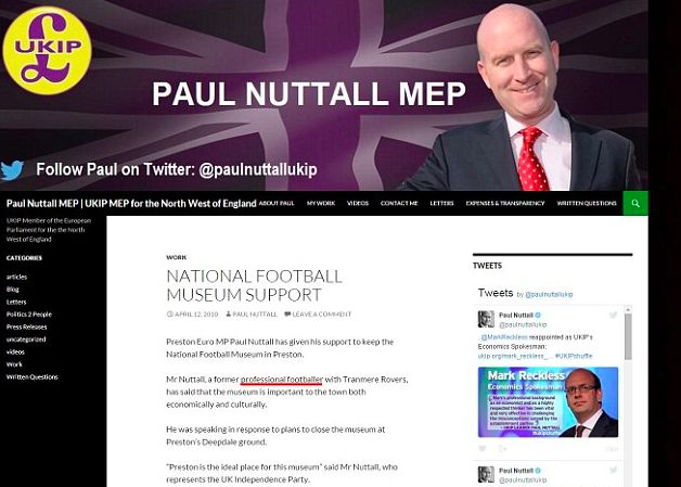 Paul Nuttall's Five Most Dubious Claims He's Been Forced To