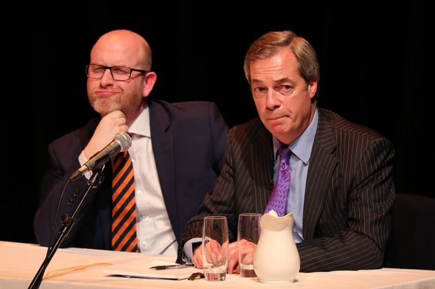 Nigel Farage Refuses To Campaign Anymore For Paul Nuttall In Stoke Amid Splits At Top Of