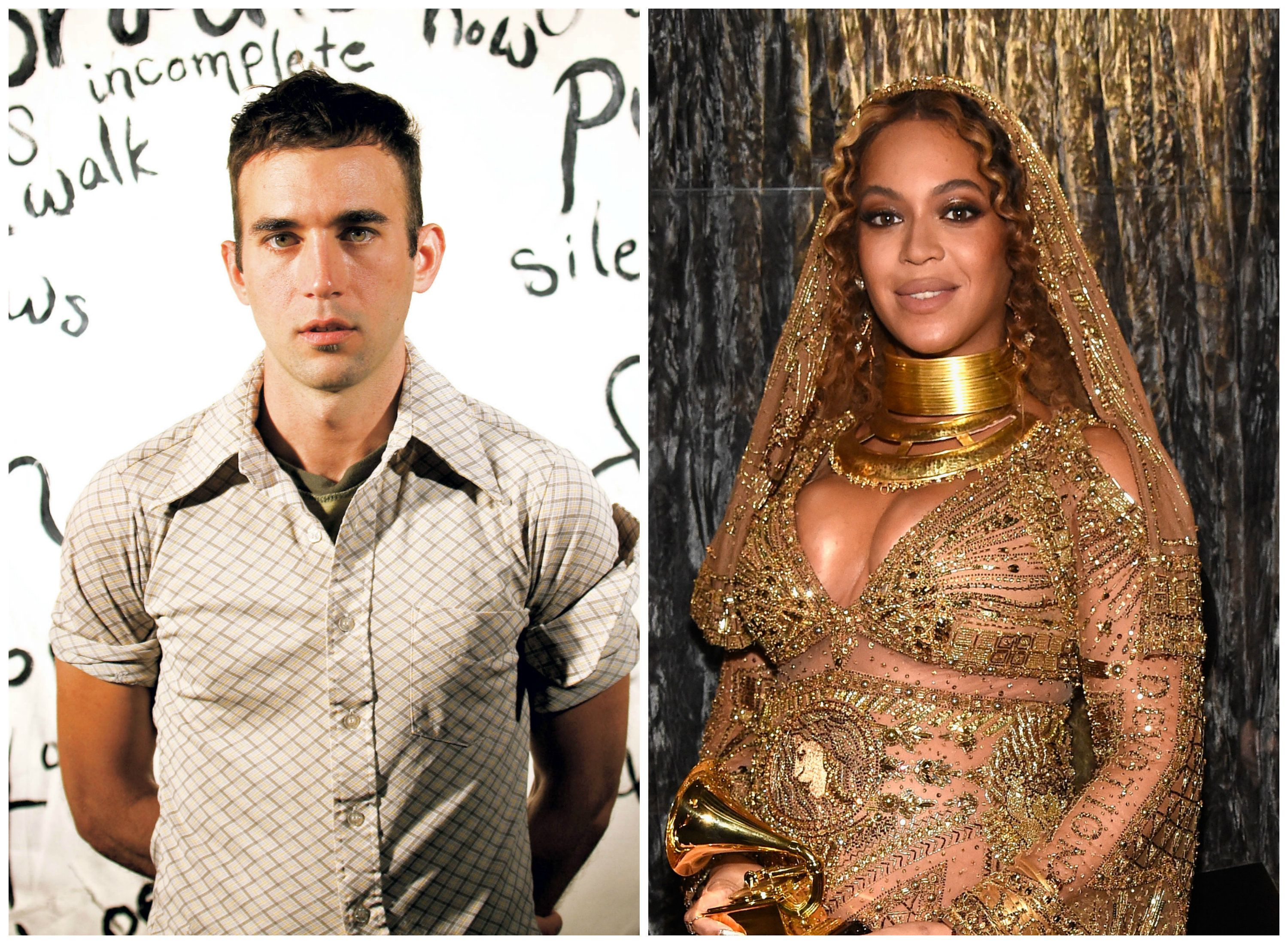 Sufjan Stevens believes the Grammys treated Beyoncé badly.
