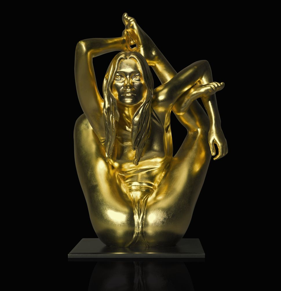 "Marc Quinn, ""Maquette for Siren,"" 2008. (Est. £70,000 to £90,000.)"