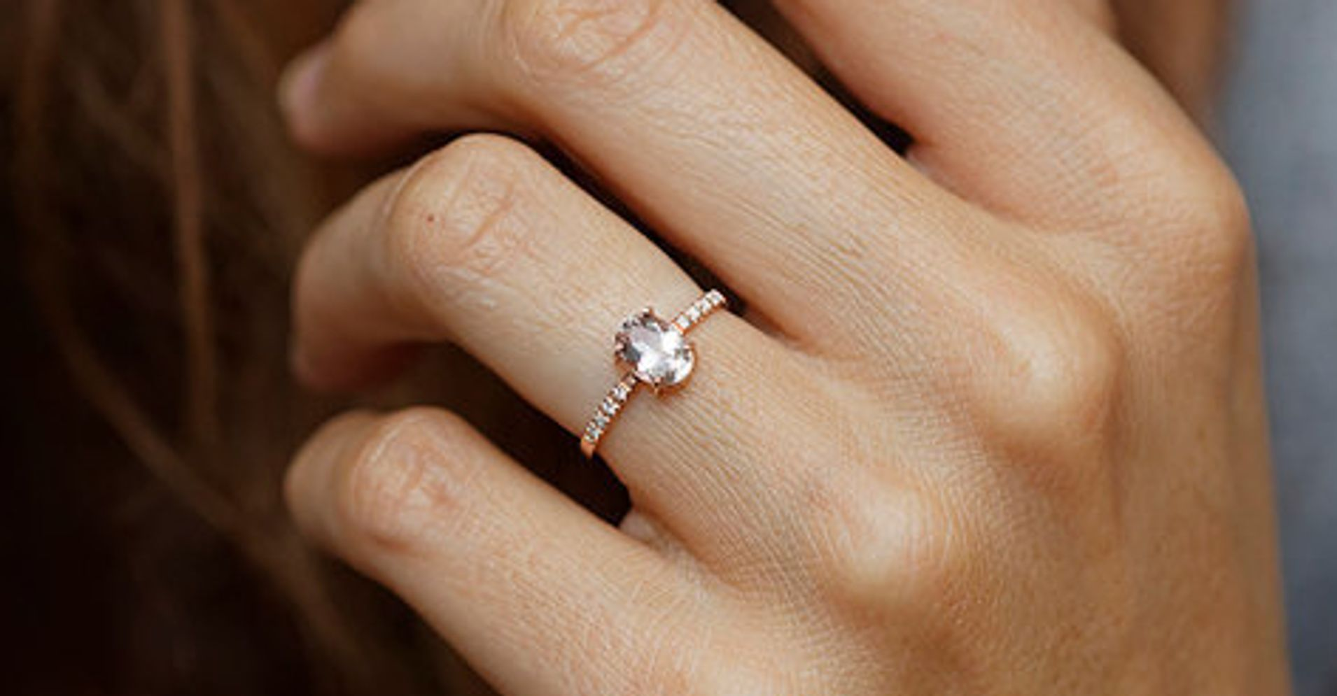 15 Perfectly Delicate Engagement Rings For The Low Key Bride Huffpost Life