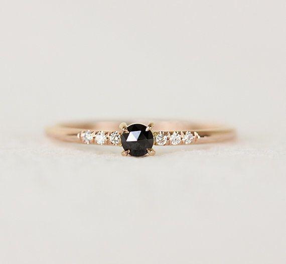 "<i>Buy it <a href=""https://www.etsy.com/listing/255124052/black-rose-cut-diamond-engagement-ring?ref=shop_home_active_12"" tar"
