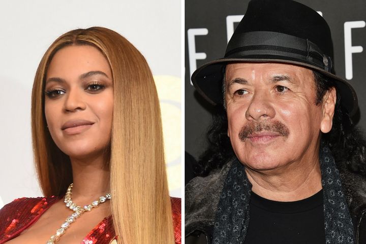 Santana apparently doesn't think Beyoncé is a real singer.