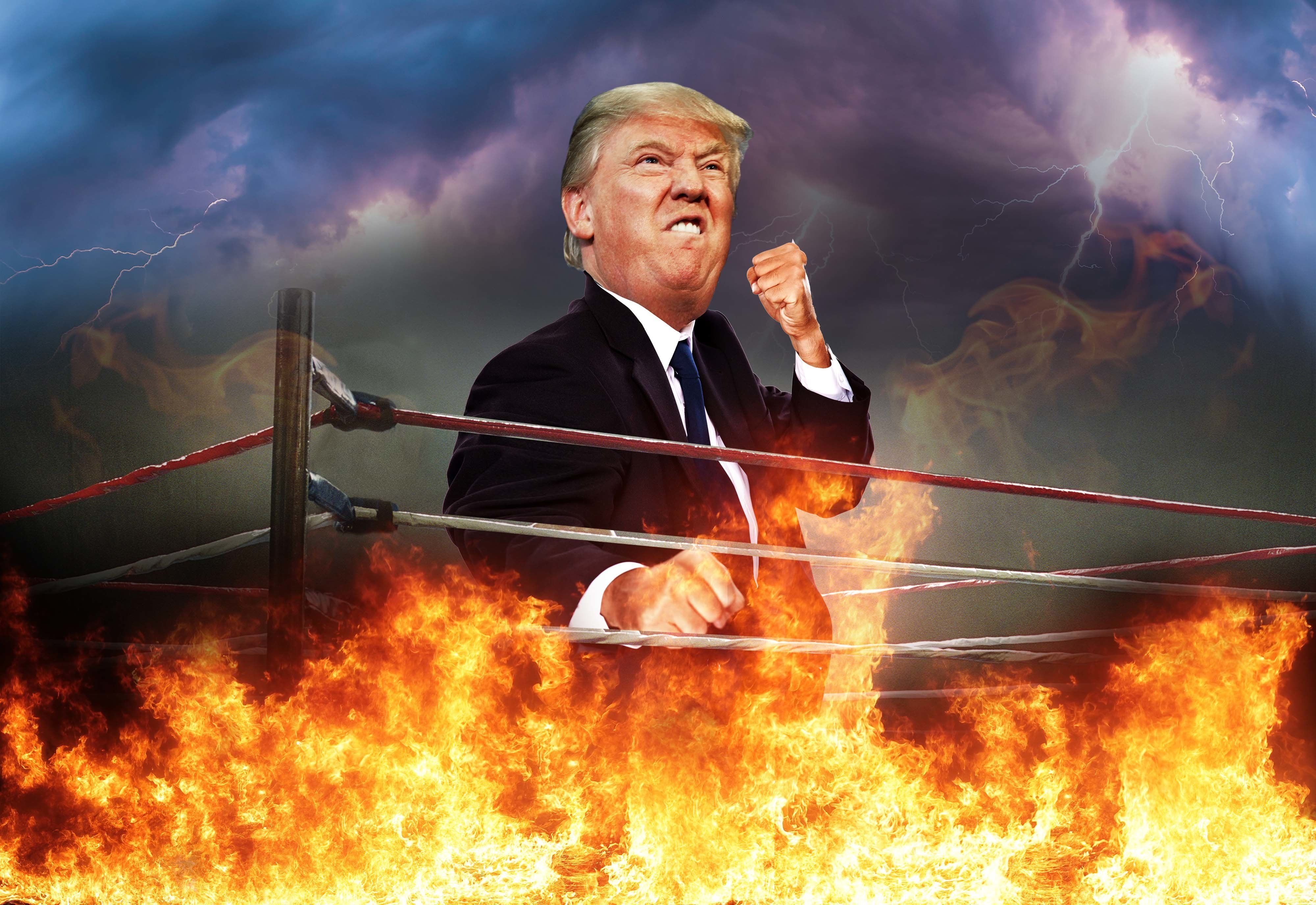 The Definitive History Of That Time Donald Trump Took A Stone Cold
