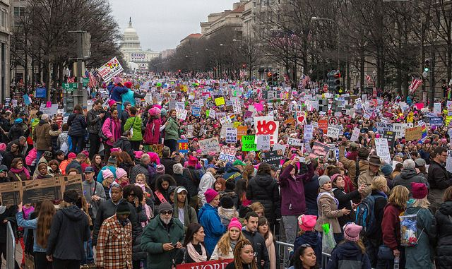 <strong>Women's March on Washington</strong>