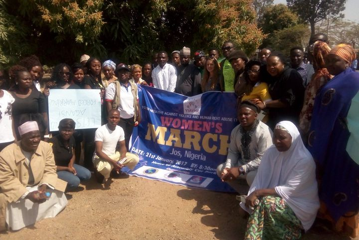 Women's March, Nigeria