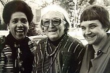 (L-R): Audre Lorde, Meridel Lesueur, and Adrienne Rich