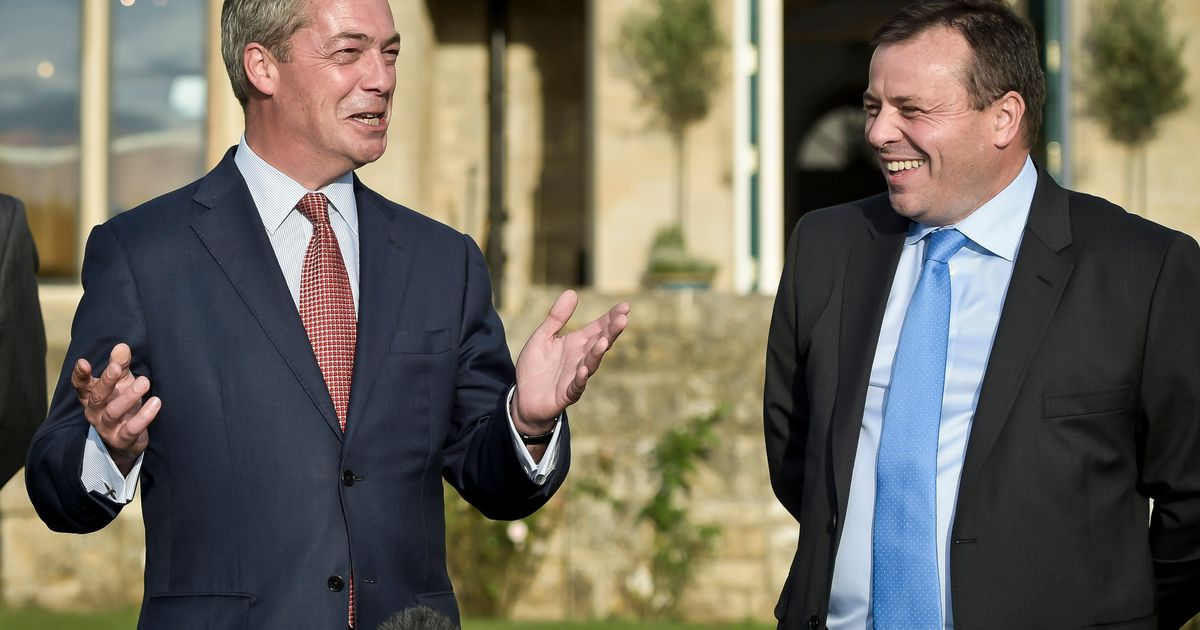 Ukip Donor Arron Banks Is 'Sick To Death' Of People 'Milking