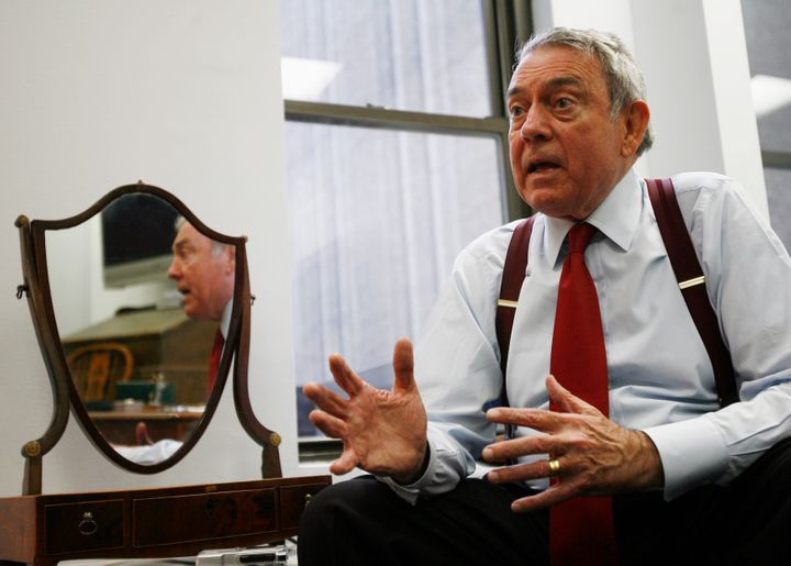 Broadcast journalist Dan Rather has developed a new following on Facebook thanks tohis writings about the Trump preside