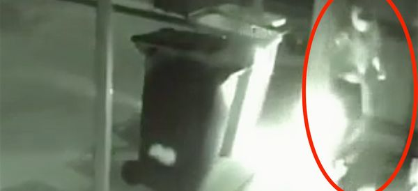 WATCH: Karma Comes Back Around For Dumbass Arsonist