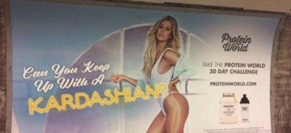 Khloe Kardashian Protein World Ad Accused Of Promoting Negative Body Image