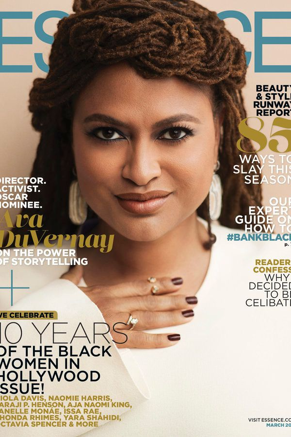 Queening on the cover of ESSENCE.