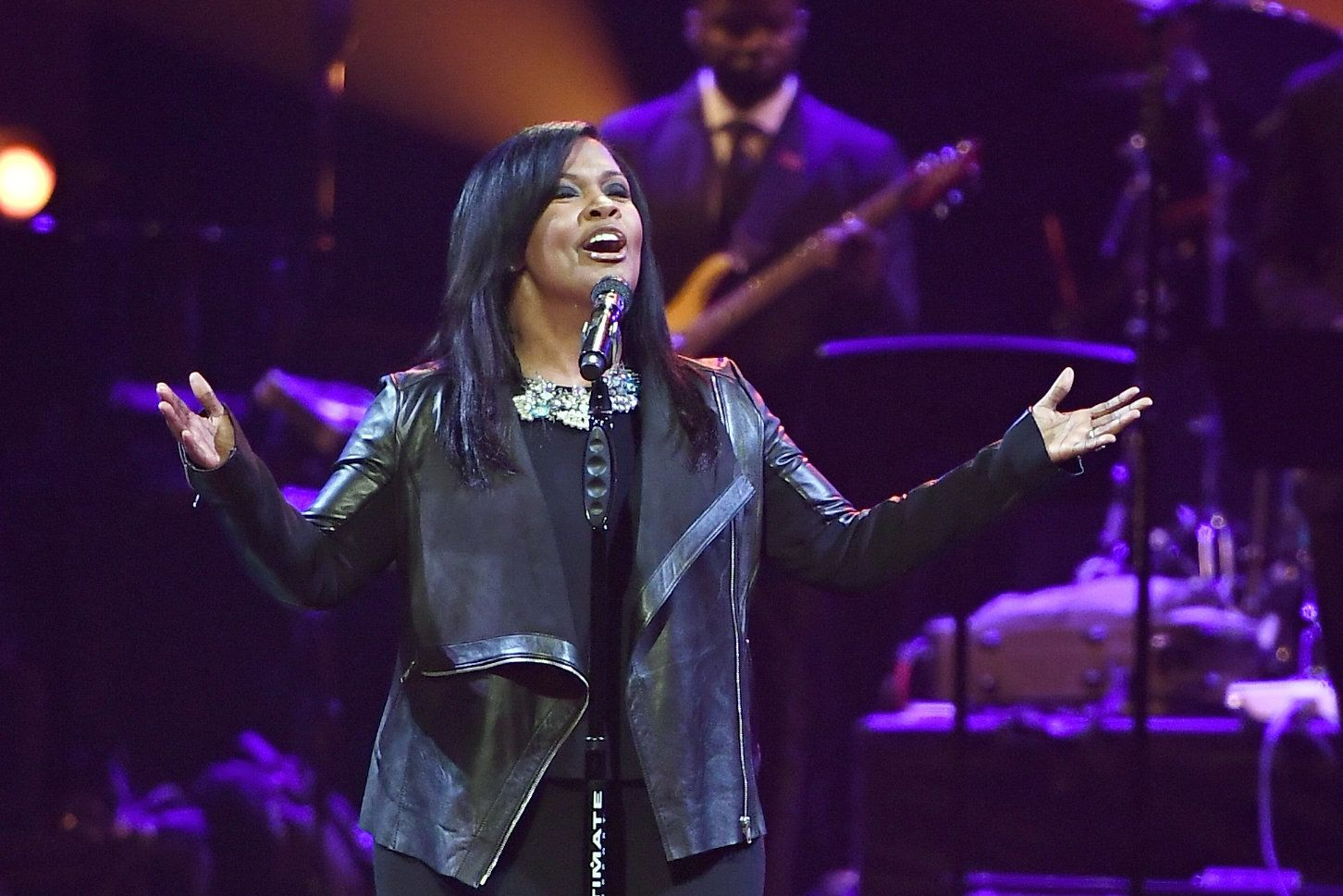 HOUSTON, TX - FEBRUARY 03:  Recording artist CeCe Winans performs onstage during the BET Presents Super Bowl Gospel Celebration at Lakewood Church on February 3, 2017 in Houston, Texas.  (Photo by Marcus Ingram/Getty Images for BET)