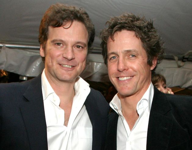 Colin Firth and Hugh Grant, seen here in 2003, are getting ready for a