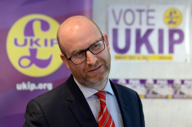 UKIP's leader and Stoke candidate Paul