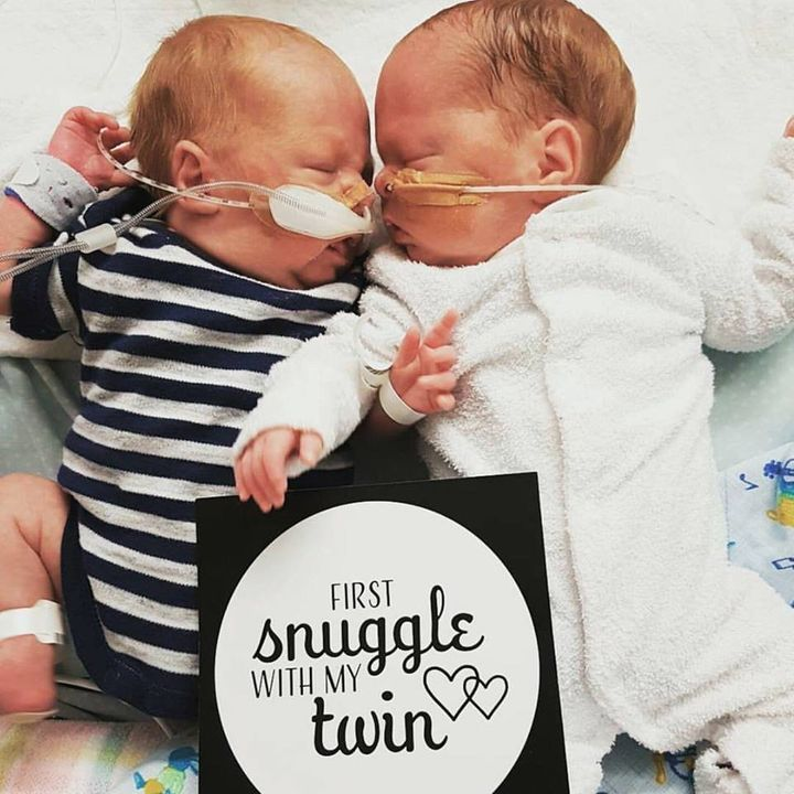 The cards celebrate milestones like first snuggle, first weight gain, first day without wires and more.