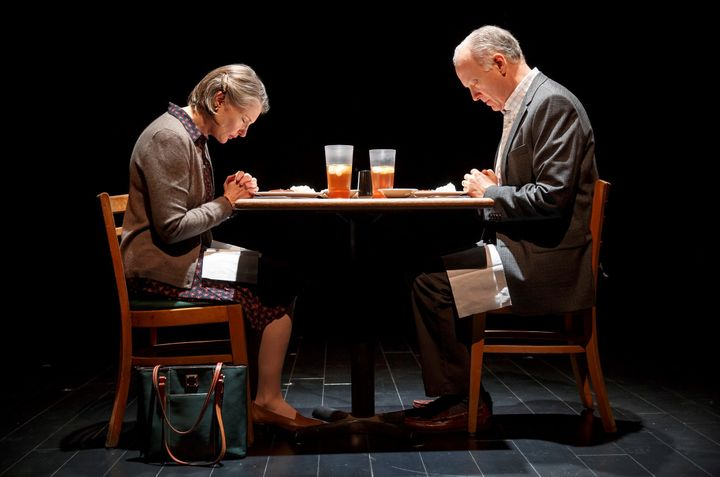 <p><em>Annette O'Toole and Reed Birney in </em>Man from Nebraska </p>