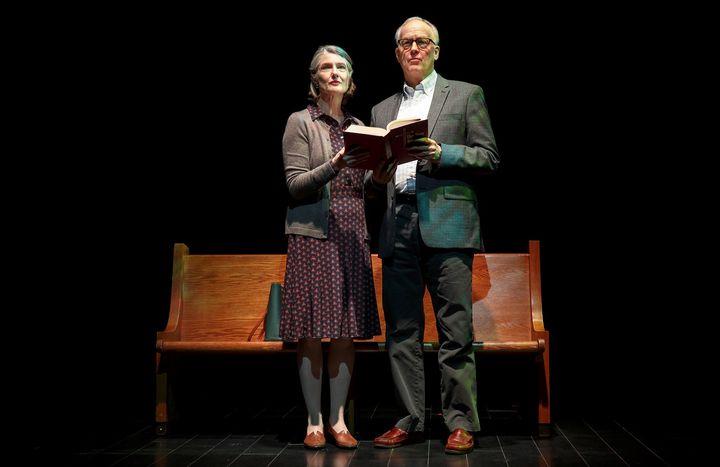 <p><em>Annette O'Toole and Reed Birney in </em>Man from Nebraska</p>