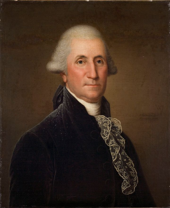 Including this one. (Adolf Ulric Wertmuller's portrait of George Washington, 1794-1796.)