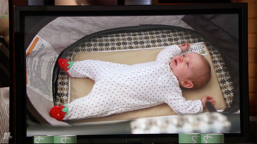 Vibrating Baby Calming Mat Pitched On Shark Tank