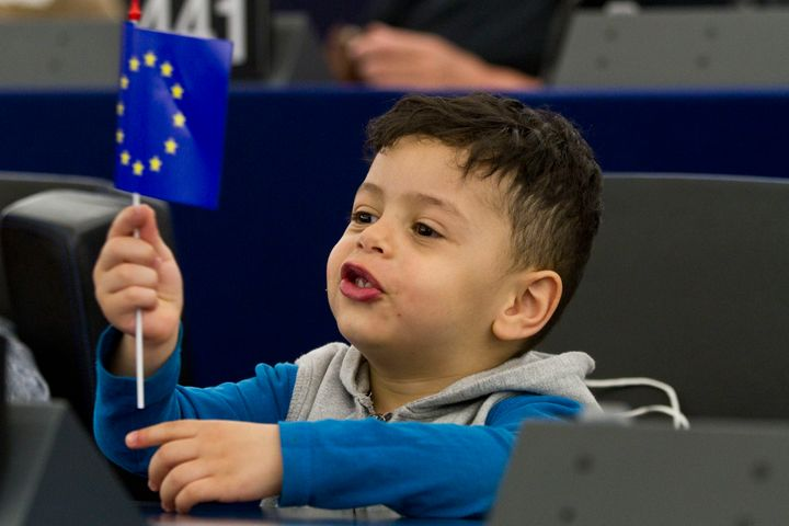 Being in the EU already comes naturally to our kids, and they're benefiting from that.