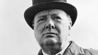 UNITED STATES - CIRCA 1900:  Prime Minister Winston Churchill of Great Britain  (Photo by Buyenlarge/Getty Images)