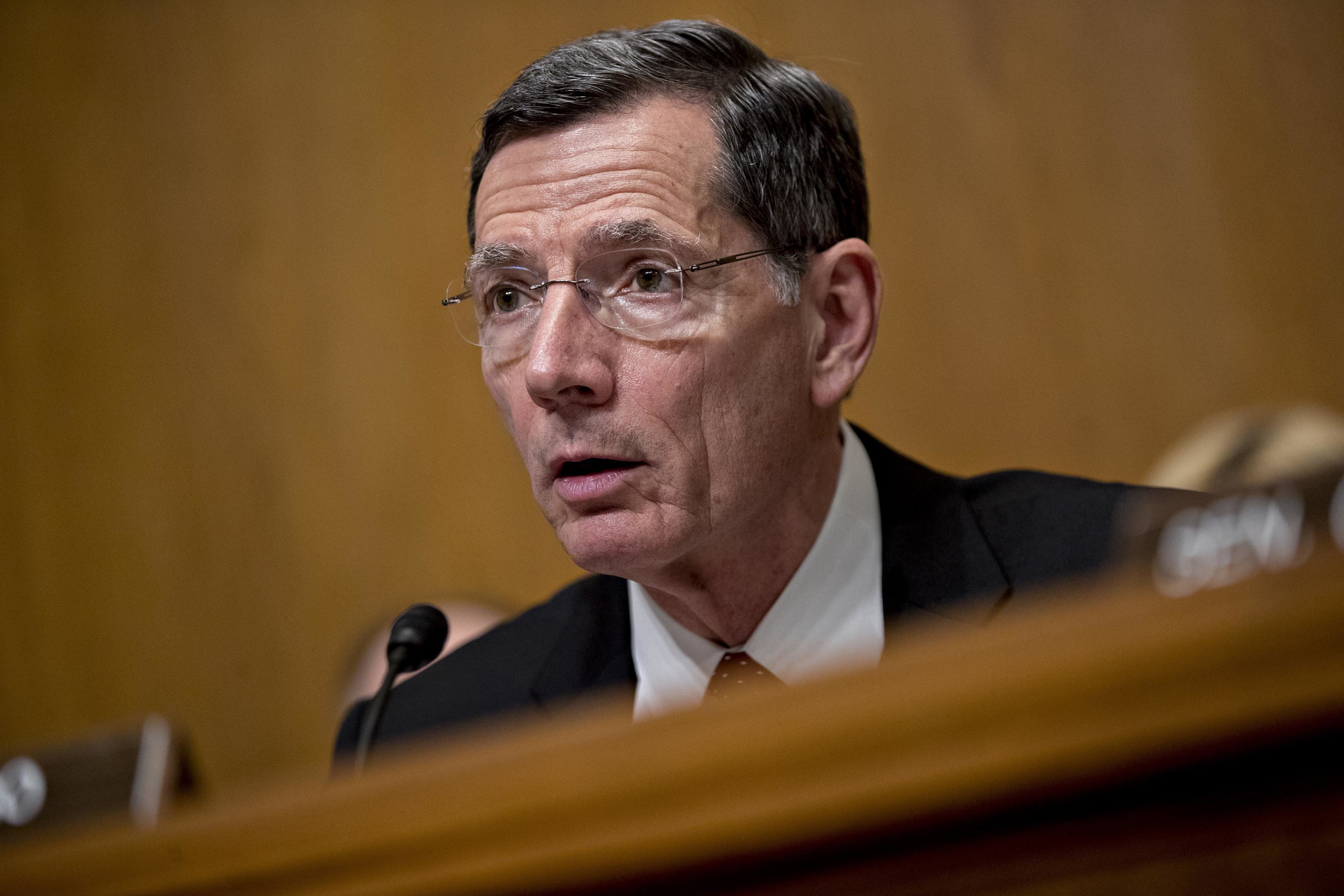 Sen. John Barrasso (R-Wyo.), chairman of the Environment and Public Works Committee, says the Endangered Species Act needs an