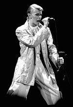 David Bowie in 1978.