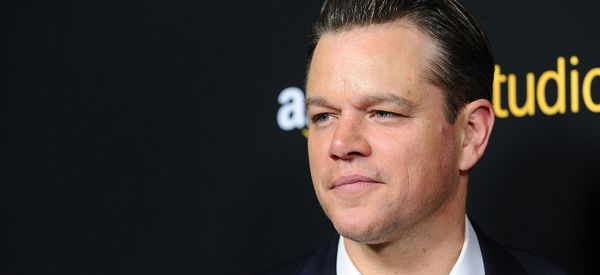 Matt Damon Speaks Out Against Donald Trump's Proposed Border Wall