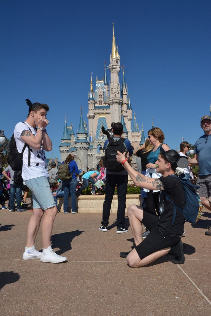 """""""If you're a Disney geek, embrace it,"""" Anderson (right) said."""