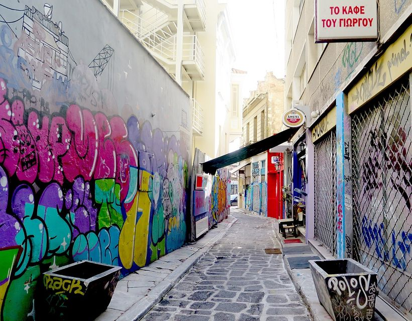 Athens with a Native is an opportunity to visit streets beyond the tourist centers.