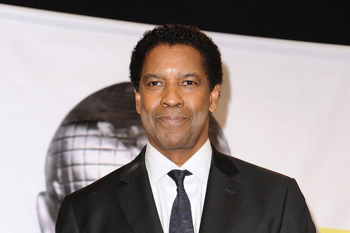 Actor Denzel Washington at the 48th NAACP Image Awards in Pasadena, California, on Saturday, February 11.