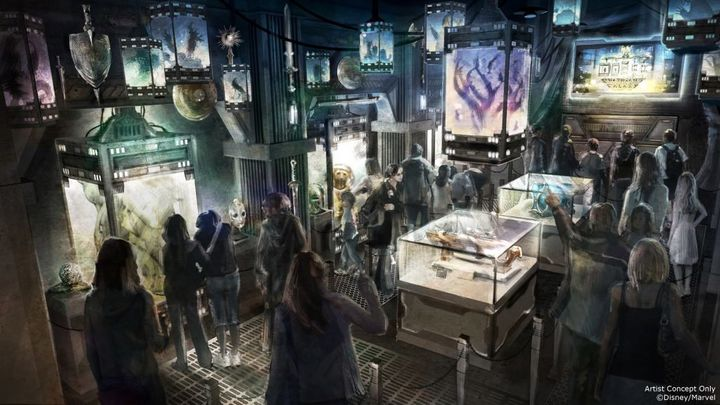 "The ride will have a <a href=""https://disneyparks.disney.go.com/blog/2016/07/guardians-of-the-galaxy-mission-breakout-coming-"