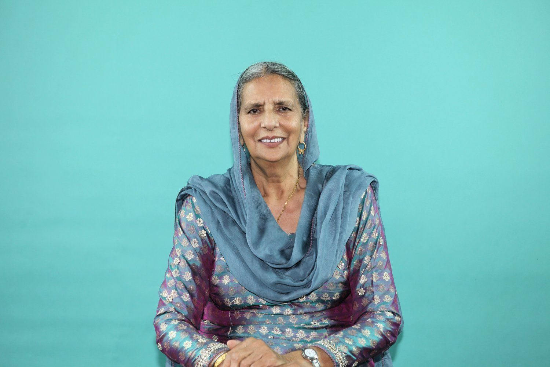 Chanan Kaur photographed for the