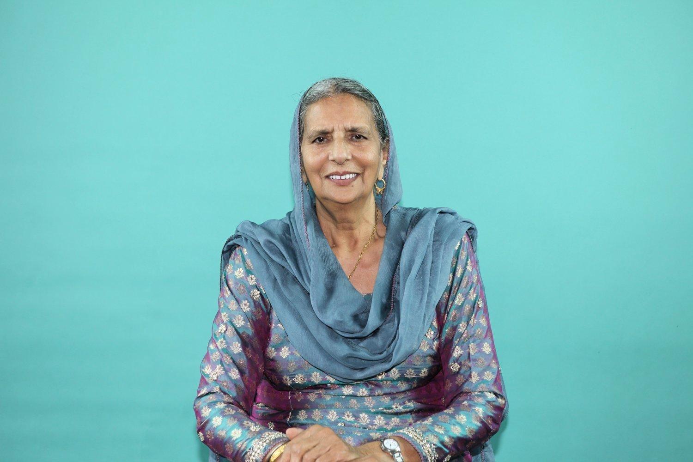 "Chanan Kaur photographed for the ""Kaur Project."""