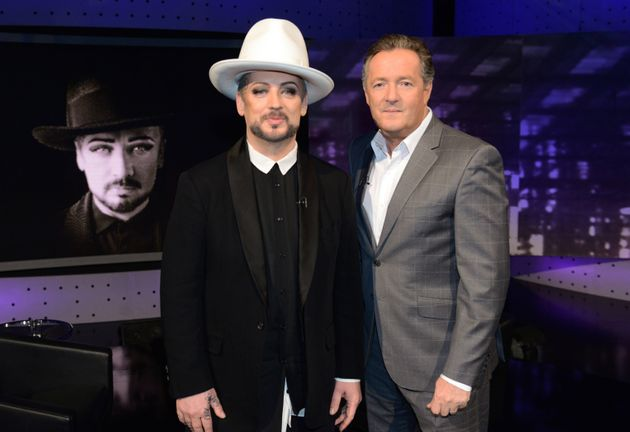 Boy George was sent to prison in